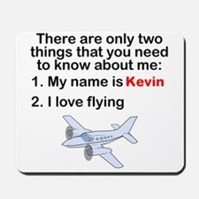 Two Things Flying Mousepad