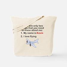 Two Things Flying Tote Bag