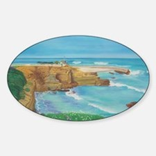 Springtime at the Childrens Cove a  Sticker (Oval)