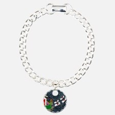 SantaDachshundiPhone4Sli Bracelet