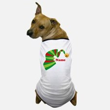 Personalized Elf Hat Dog T-Shirt