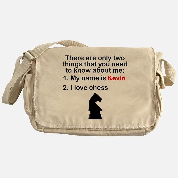 Two Things Chess Messenger Bag