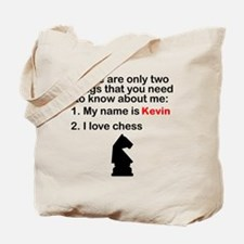 Two Things Chess Tote Bag