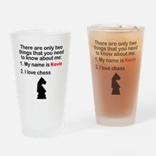 Two Things Chess Drinking Glass