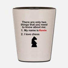 Two Things Chess Shot Glass