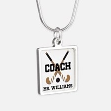Personalized Field Hockey Coach Necklaces