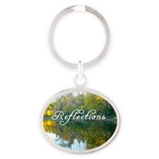 reflections Oval Keychain