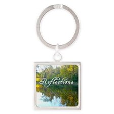 reflections Square Keychain