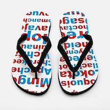 Speak Our Language Flip Flops