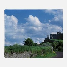 The stately Rock of Cashel stands da Throw Blanket