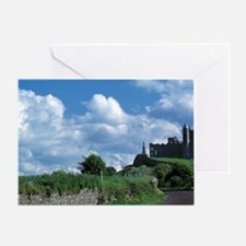 The stately Rock of Cashel stands da Greeting Card