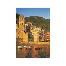 Vernazza; Liguria; Italy; Cinque  Rectangle Magnet