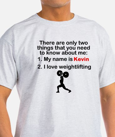 Two Things Weightlifting T-Shirt