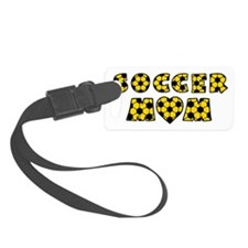 wh black gold, Mom Luggage Tag