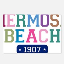 Hermosa Beach 1907 W Postcards (Package of 8)