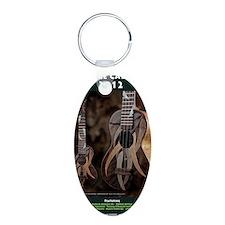 Ukulele Calendar 2012 cover Keychains