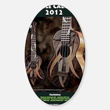 Ukulele Calendar 2012 cover Decal