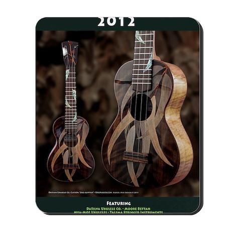 Ukulele Calendar 2012 cover Mousepad
