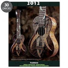 Ukulele Calendar 2012 cover Puzzle
