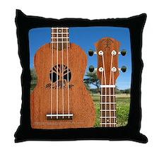 aNueNue Elephant uke Throw Pillow