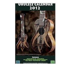 Ukulele Calendar 2012 cov Postcards (Package of 8)