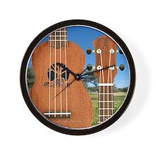 aNueNue Elephant uke Wall Clock