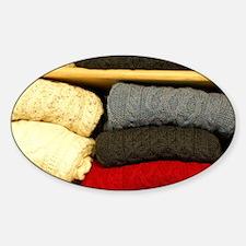 Classic Irish wool sweaters. Decal
