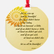 be thankful copy-png4x4 Ornament