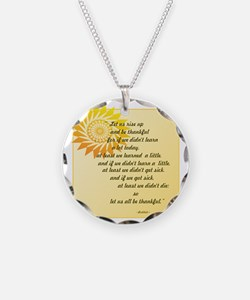 be thankful copy-png4x4 Necklace