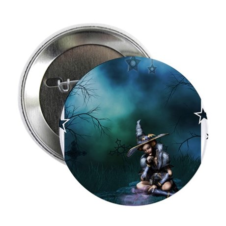"""TheWitchingHour 2.25"""" Button"""