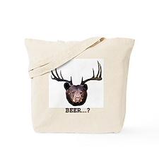 Bear-Deer-10x10 Tote Bag