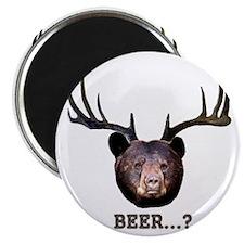 Bear-Deer-10x10 Magnet