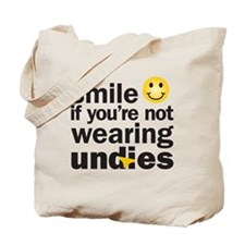 smilenot copy Tote Bag