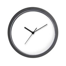 Devil_oh_crap_wht Wall Clock