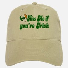 Kiss Me if You're Irish Baseball Baseball Cap