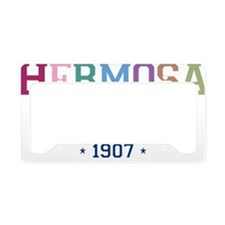 Hermosa Beach 1907 B License Plate Holder