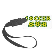 wh green gold, Mom Luggage Tag