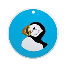 pufin Round Ornament