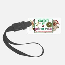 Property of North Pole Luggage Tag