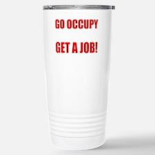 occupy yourself(blk) Travel Mug