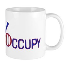 Occupy Percentage Graphic Mug
