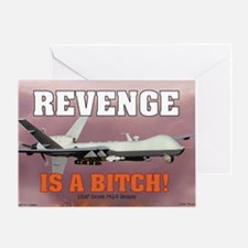 Mil 16 Battle Reaper-1 copy Greeting Card