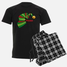 Personalized Elf Hat Pajamas