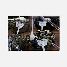 Europe, Italy, Rome. Olives produ Rectangle Magnet