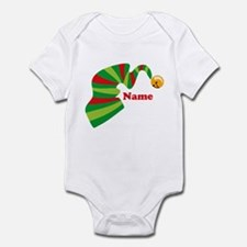 Personalized Elf Hat Infant Bodysuit