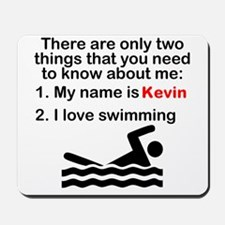Two Things Swimming Mousepad