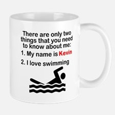 Two Things Swimming Mugs