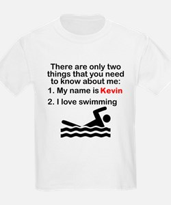 Two Things Swimming T-Shirt