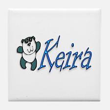 Keira Panda Tile Coaster