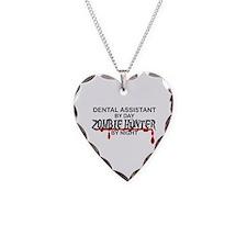 Zombie Hunter - Dental Asst Necklace Heart Charm